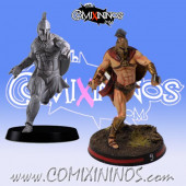 Humans / Bretonnian / Norses - Spartan Blitzer or Yeoman nº 2 - Meiko Miniatures