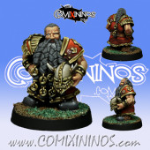 Dwarves - Dwarf Blocker nº 4 - SP Miniaturas