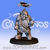 Dwarves - Resin Dwarf Blocker nº 6 / 1 - Fanath Art