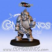 Dwarves - Metal Dwarf Blocker nº 6 / 1 - Fanath Art