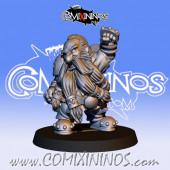 Dwarves - Metal Dwarf Blocker nº 7 / 2 - Fanath Art