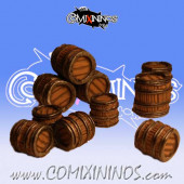 Set of 10 Beer Barrels for Bloodweiser Girls - Renedra