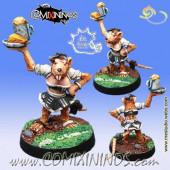 Ratmen - Ratmen Bloodweiser Girl - Meiko Miniatures