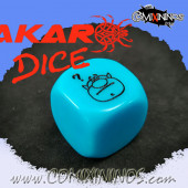 Bonehead Skill Dice / Light Blue Color - Akaro