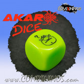 Bonehead Skill Dice / Light Green Color - Akaro