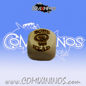 Bonehead Skill Dice without Dots - Wooden