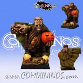 Dwarves - Boyar Champion Dwarf Coach - Scibor Miniatures