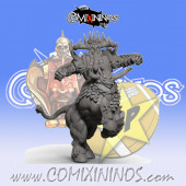 Evil Dwarves - Damned Bull Centaur nº 2 - SP Miniaturas