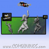 Wood Elves - Cabiri Wood Elf Catcher nº 4 - MK1881