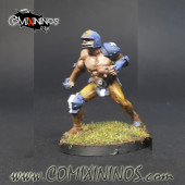 Humans - Fat Bastards Catcher nº 2 - Meiko Miniatures