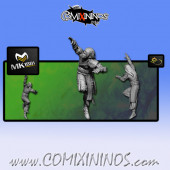 Wood Elves - Cabiri Wood Elf Catcher nº 2 - MK1881