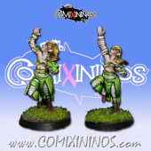 Wood Elves - Set 2 of 2 Cabiri Catchers nº 3 and nº 4 - MK1881