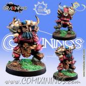 Evil Dwarves - Evil Dwarf Blocker nº 2  - Meiko Miniatures
