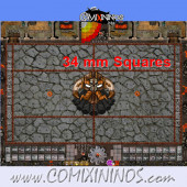 34 mm Evil Dwarf Plastic Gaming Mat with Parallel Dugouts - Comixininos