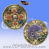 Evil Chosen Metal Flipping Coin - Meiko Miniatures