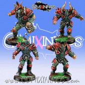 Evil - Set 4 Evil Warriors - Willy Miniatures