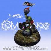 Goblins - Mad Bomber Goblin Star Player - Willy Miniatures