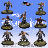 Evil Pact - Set of 8 Marauders - Willy Miniatures
