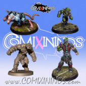 Evil Pact - Set of 4 Racial Renegades - Willy Miniatures