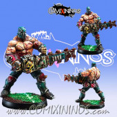 Evil - Resin Mad Ripper Chainsaw Star Player - Willy Miniatures