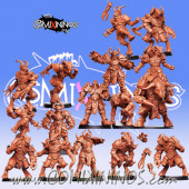 Evil - Reapers Evil Team of 16 Players with Minotaur - RN Estudio