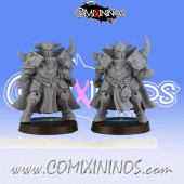 Evil - Set of 2 Evil Warriors - Black Scorpion