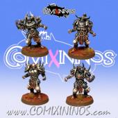 Evil - Set 4 Evil Warriors - Fanath Art