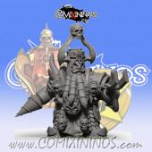 Evil Dwarves - Damned Evil Dwarf Blocker nº 3 - SP Miniaturas