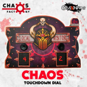 Chaos Chosen Evil Fantasy Football Score Board - Chaos Factory