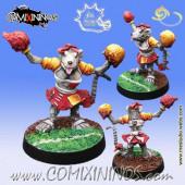 Ratmen - Ratmen Cheerleader - Meiko Miniatures