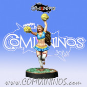 Humans - Human Cheerleader - Willy Miniatures