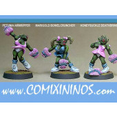 Orcs - Orc Cheerleaders Set of 3 - Shadowforge
