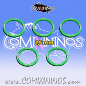Set of 5 Claws Skill Rings for 25 mm Bases - Comixininos