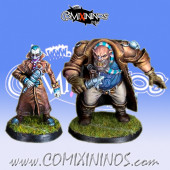 Ogre and Vampire Sportcasters - Willy Miniatures