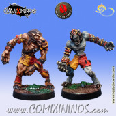 Necromantic - Set of 2 Werewolves - Mano di Porco