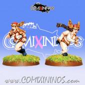 Dwarves - Wing Maidens Dwarf Ladies Runners Set of 2 – Warlord Games