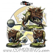 Goblins / Orcs - Crazy Squig Star Player - SP Miniaturas