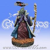 Rotten / Evil - Painted D'Khul Bathalian Wizard - Reaper