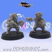 Goblins / Underworld - Set of 2 Aristocratic Goblin Coaches Da Klerkz  - Mystery Studio
