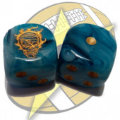 Set of 2d6 Undead Dice - SP Miniaturas