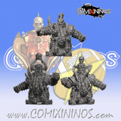 Evil Dwarves - Pack of 5 non-Mutated Arms for Damned Dwarf Team - SP Miniaturas