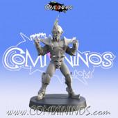 Dark Elves - Resin Dark Elf Lineman nº 1 - Iron Golems