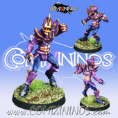 Dark Elves - Dark Elf Lineman nº 3 - Meiko Miniatures