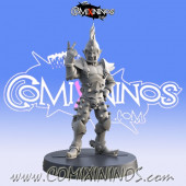 Dark Elves - Resin Dark Elf Lineman nº 3 - Iron Golems