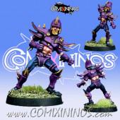 Dark Elves - Dark Elf Lineman nº 4 - Meiko Miniatures