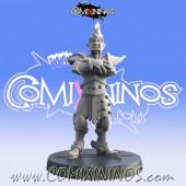 Dark Elves - Resin Dark Elf Lineman nº 4 - Iron Golems