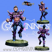 Dark Elves - Dark Elf Lineman nº 5 - Meiko Miniatures