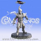 Dark Elves - Resin Dark Elf Lineman nº 6 - Iron Golems