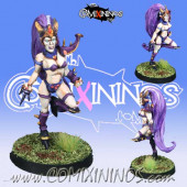 Dark Elves - Dark Elf Witch nº 2 - Meiko Miniatures