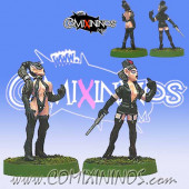 Dark Elves - Dark Elves Physiotherapist and Nurse Set of 2 - Shadowforge